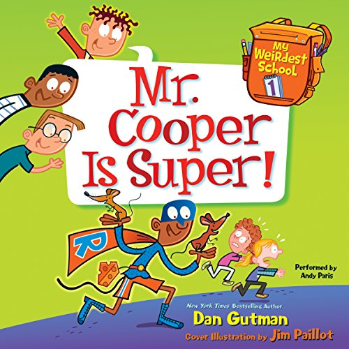 Mr. Cooper Is Super! audiobook cover art