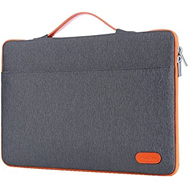 ProCase 13-13.5 Inch Laptop Sleeve Case Bag for Surface Laptop Surface Book Macbook Pro, Protective Carrying Handbag Cover for 12  13  Lenovo Dell Toshiba HP ASUS Acer Chromebook Notebook -Dark Gray