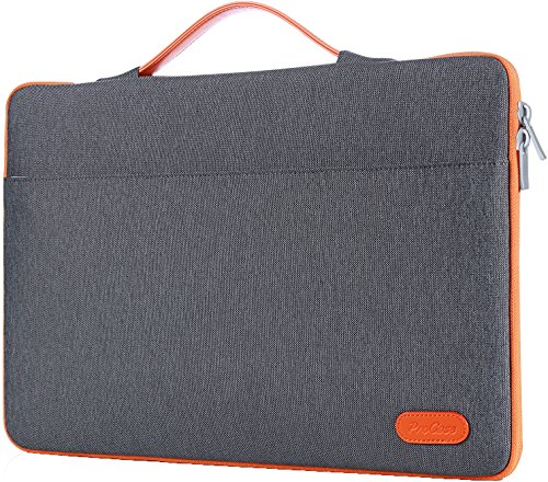 ProCase 14-15.6 Inch Laptop Sleeve Case Bag for 2019 MacBook Pro 16, Carrying BriefCase Handbag for 14' 15' 15.6' Samsung Sony ASUS Acer Lenovo Dell XPS HP Toshiba Chromebook -Dark Grey