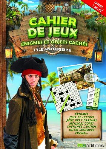 Cahier de jeux, énigmes et objets cachés : L'île mystérieuse: 1 livre + 1 jeu PC