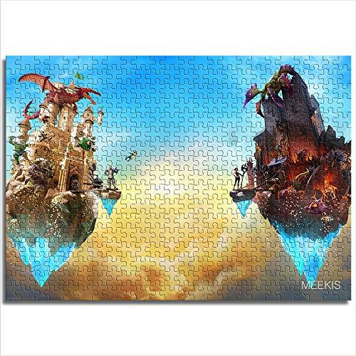 CELLYONE MEEKIS 1000 Piezas de Rompecabezas The Mighty Quest for Epic Loot Educational Games, Puzzle for Kids