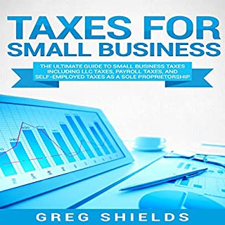 Taxes for Small Business audiobook cover art