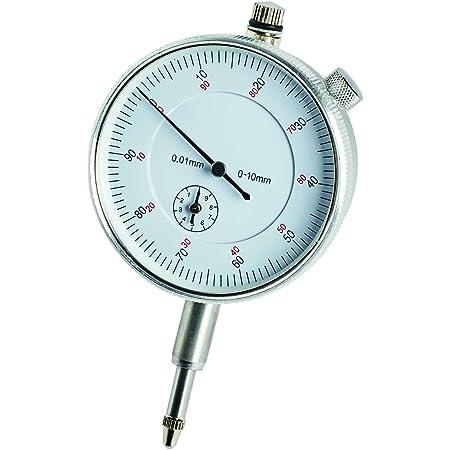 Hentek Messuhr Sondenanzeige Zifferblatt Test Messbereich 0 10mm Dial Test Indicator Mechanische Messuhr Gewerbe Industrie Wissenschaft