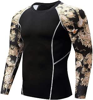 スポーツシャツ メンズ Joielmal ランニングウェア 快適 アンダーウェア 長袖 トレーニングウエア コンプレッショントップス ポーツシャツ コンプレッションウェア 締め付け コンプレッションインナー