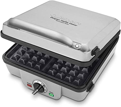 wholesale Cuisinart discount 4-Slice Belgian Waffle Maker outlet sale with Pancake Plates (Renewed) outlet online sale