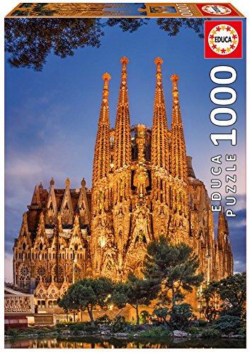 Educa Borrás - Sagrada Familia Puzzle, 1000 piezas (17097)