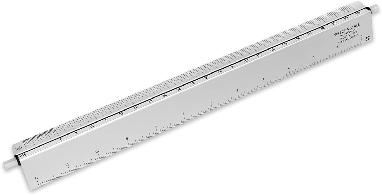 Max 65% OFF Free shipping / New Alumicolor Select-a-Scale Architect Drafting Cal Tool Rotating w