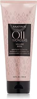 Matrix Oil Wonders Volume Rose Conditioner For Fine Hair, 6.8 Fl Oz
