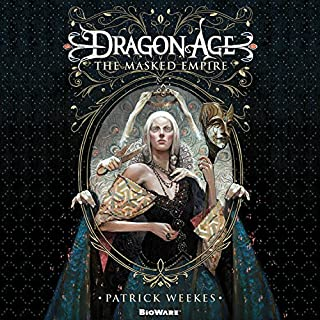 Dragon Age: The Masked Empire audiobook cover art