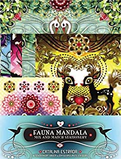 [(Fauna Mandala : Mix and Match Stationery)] [By (author) Catalina Estrada] published on (March, 2008)