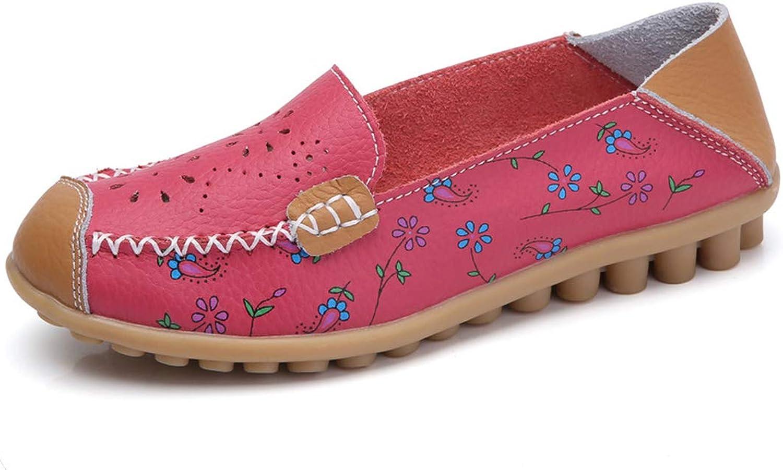 Baixa Fashion Women Flats Spring Autumn shoes Women Soft Comfortable Female Flat Casual colorful shoes Flowers