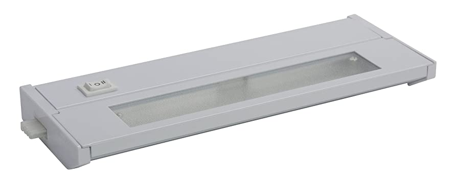 American Lighting 043X-1-WH Priori Xenon Under Cabinet Hardwire Light, 20-Watts, Hi/Low/Off Switch, 120-Volt, 10-Inch, White