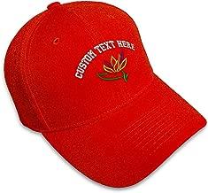 Custom Baseball Cap Plants Bird of Paradise Embroidery Dad Hats for Men & Women