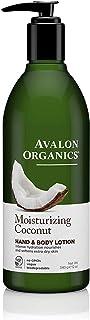 Avalon Organics Moisturizing Coconut Hand & Body Lotion, 12 oz.