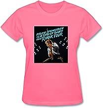 JXK Women's The River Tour 2016 Bruce Springsteen And E Street Band T-shirt