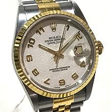 (ロレックス)ROLEX 16233 デイトジャスト コンピューター文字盤 メンズ腕時計 腕時計 K18YG / SS メンズ 中古