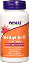 Sponsored Ad - NOW Supplements, Methyl B-12 5000mcg,Methylcobalamin, Hypoallergenic, 90 Veg Capsules