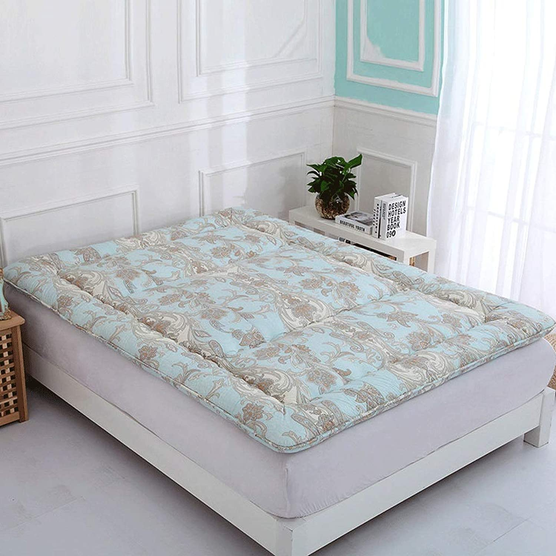 Cotton Tatami Mattress Foldable Bedroom Living Room Sleeping Pad Deodorant Antibacterial Mat Home Yoga Floor Mat (color   C, Size   100x200cm)