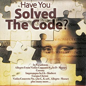 Have You Solved The Code?