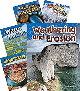 Teacher Created Materials - Science Readers: Earth and Space Science - 5 Book Set - Grade 2