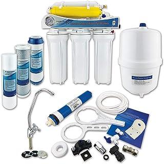 comprar comparacion Finerfilters - Sistema de ósmosis inversa de 6 etapas con eliminación de flúor (50 GPD), para beber la mejor agua potable