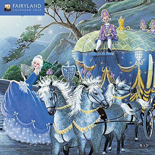 Fairyland Mini Wall calendar 2020 (Art Calendar)