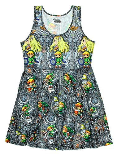 The Legend of Zelda: The Wind Waker Stained Glass Dress Large