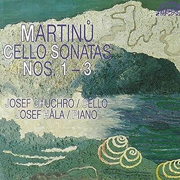 Martinů: Cello Sonatas Nos. 1 - 3