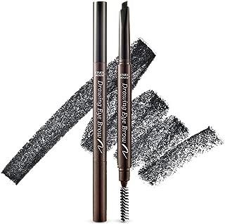 ETUDE HOUSE Drawing Eye Brow 0.25g #6 Black - Long Lasting Eyebrow Pencil. Soft Textured Natural Daily Look Eyebrow Makeup