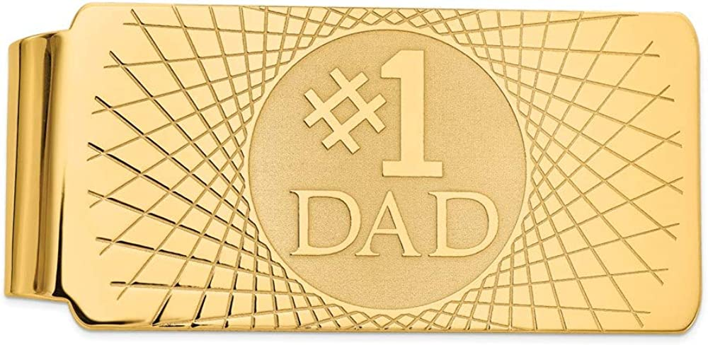 14k Yellow Gold Men's Ranking integrated 1st place Money lowest price Clip