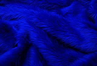 7'x9' Royal Shaggy Fur Faux Fur Rug Rectangle Shape Plush Soft Modern Fur Rug Living Room Area Rug