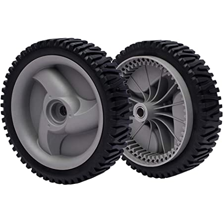 2x Front Drive Wheels Fits Craftsman Poulan Weedeater 194231X427 532403111