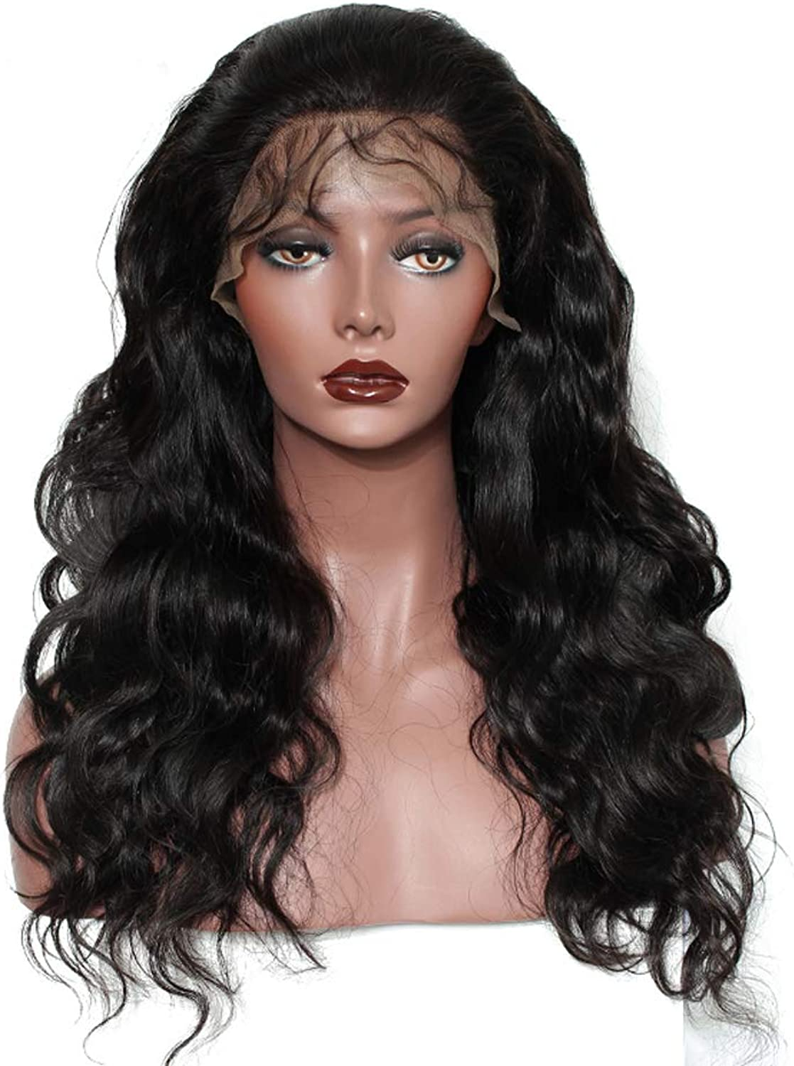 250 Density Lace Front Human Hair Wigs Pre Plucked Brazilian Body Wave Lace Front Wigs For Women Remy