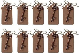 comprar comparacion 10 abrebotellas de estilo rústico de Awtlife, ideales para regalo de boda, souvenirs, decoración. Viene con ...