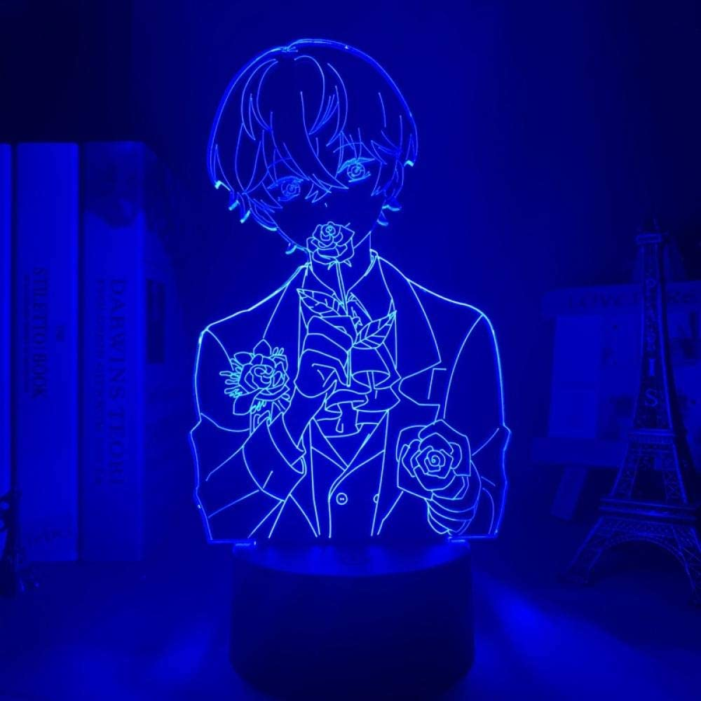 New 3D Lamp Mystic Messenger LED Night Kid for Deco Light Room B Max 47% OFF Fort Worth Mall