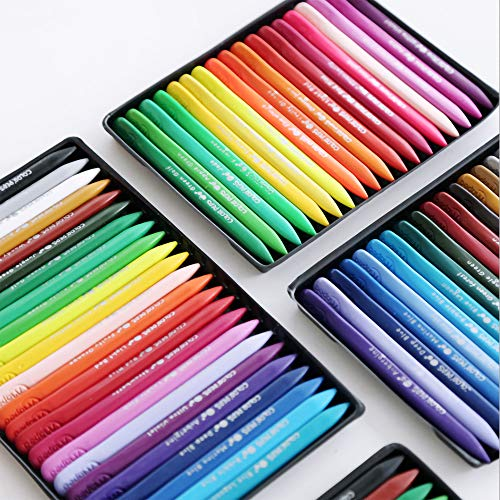 The New 24 Crayon Colors are Safe, Clean, Non-Stick Hand Crayons, Washable, Easy to Store(24Colors)