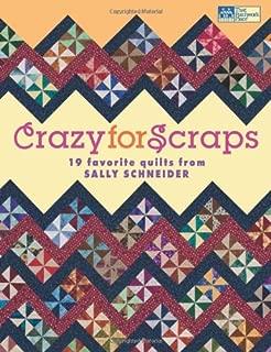 Crazy for Scraps: 19 Favorite Quilts from Sally Schneider