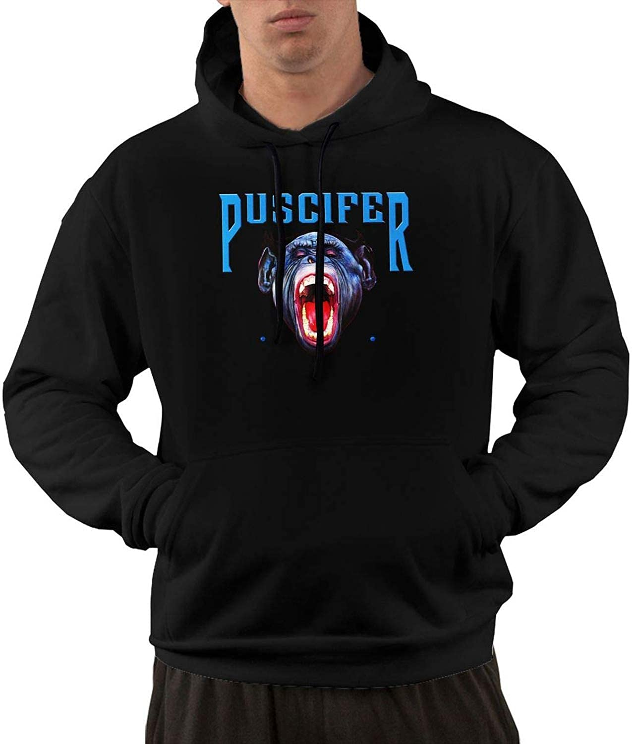 d816a075 To-night Puscifer Men's Men's Men's Hoodies Hooded Sweatshirt with Pocket  Black 8fc6b4