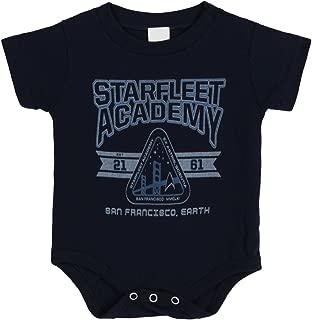 Starfleet Academy Infant Baby Romper Snapsuit