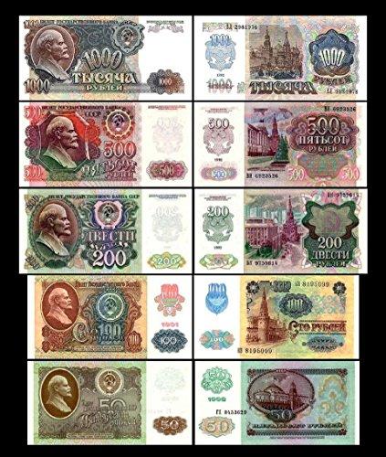 russischer rubel scheine