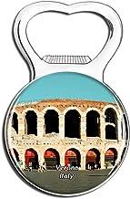 Weekino Italia Verona Arena Piazza Imán de refrigerador Cerveza Abrebotellas Ciudad Viajar Recuerdo Colección Etiqueta engomada Fuerte del refrigerador