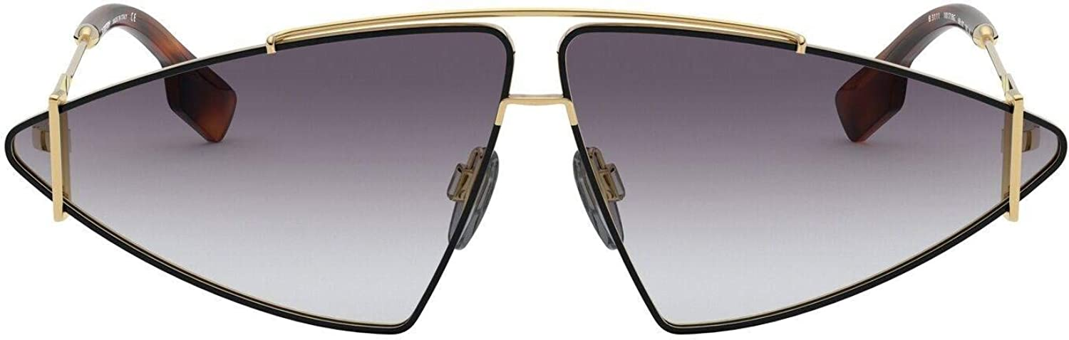 Burberry BE3111 10178G Gold BE3111 Rectangle Sunglasses Lens Category 3 Size 68
