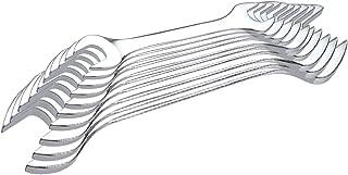 Venus VM-10A Chrome Vanadium Steel Double Ended Open Jaw Spanner Set (Silver, 10-Pieces)