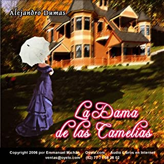 La Dama de las Camelias [The Lady of the Camelias] audiobook cover art
