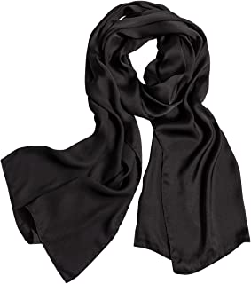 polyester silk scarfs, silky scarf different occasions, lightweight pashmina wrist head scarves