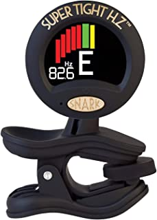 Snark ST8-HZ Chromatic Clip-on Tuner with Hertz Tuning - Works on All Instruments, Including Guitar, Bass, Mandolin, Banjo, Ukulele, Violin, Brass and Woodwind