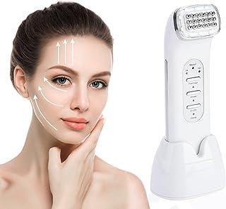 Rejuvenecimiento Facial Máquina Belleza de Radiofrecuencia RF Reafirmante Piel Masaje cara para Eliminar Arrugas Acné y Le...