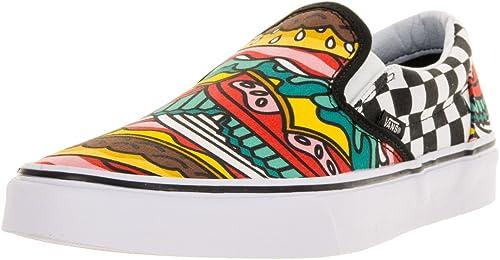 Homme Slip On Vans Classic Slip On – Slippers - - (late night ...