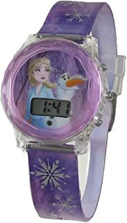 Disney Frozen 2 Elsa and Olaf Digital Light Up Watch and...