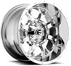 FUEL Krank P -Chrome Wheel with Painted (20 x 12. inches /6 x 135 mm, -44 mm Offset)